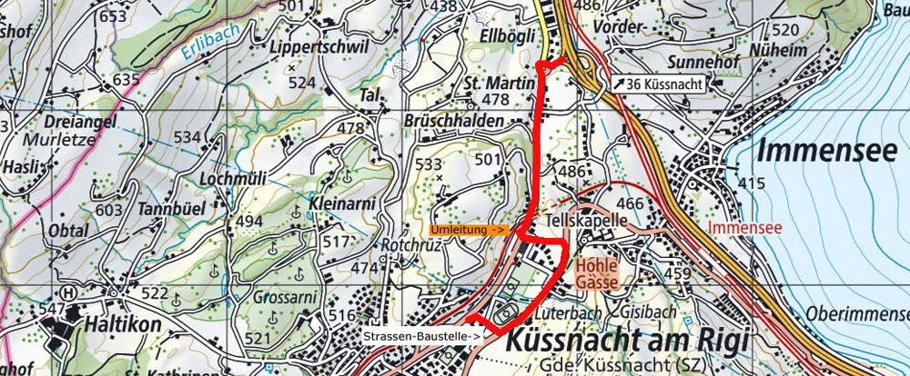 trailshop Anfahrt